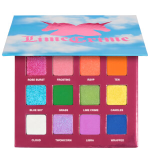 Paleta de sombra de ojos 10th Birthday de Lime Crime