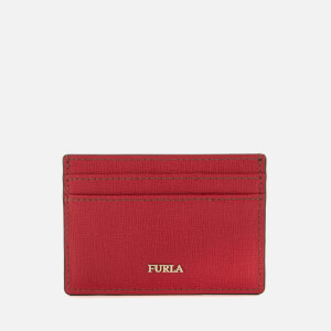 Furla Women's Babylon Small Credit Card Case - Ruby