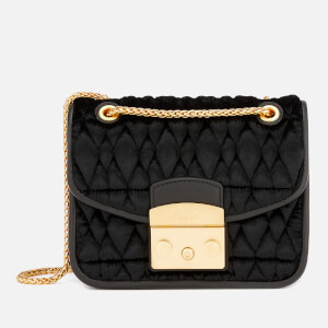 Furla Women's Metropolis Cometa Mini Cross Body Bag - Black