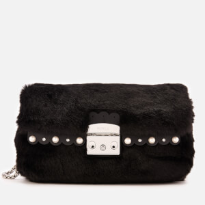 Furla Women's Metropolis Nuvola Small Cross Body Bag - Black