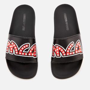 McQ Alexander McQueen Women's Chrissie Slide Sandals - Black/Silver Studs
