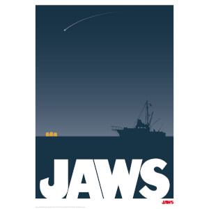 Jaws Best Summer Ever Limited Edition Print
