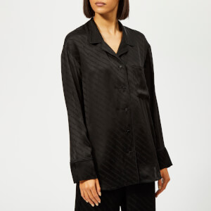 Alexander Wang Women's Long Sleeve Pyjama Shirt - Black