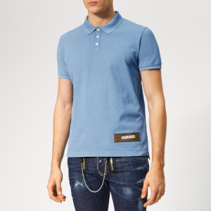 Dsquared2 Men's Classic Fit Polo Shirt - Blue