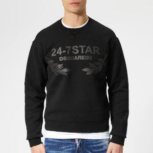 Dsquared2 Men's 24-7 Sweatshirt - Black
