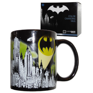 DC Comics Batman Gotham Bat-signal Colour Change Mug