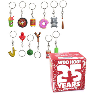 Kidrobot The Simpsons: 25th Anniversary Keychain Assortment