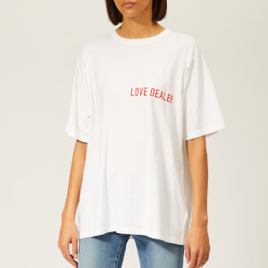 Golden Goose Deluxe Brand Women's Cindy T-Shirt - White/Red Love Dealer