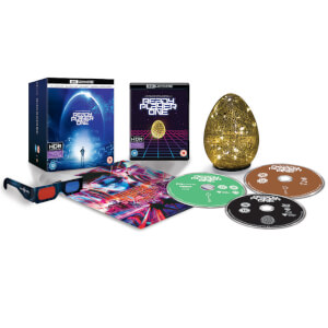Ready Player One - 4K Ultra HD Zavvi Exclusive Egg Light Collector's Edition (Includes 3D Blu-ray & Blu-ray)