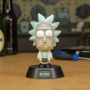 Rick and Morty Rick-Logo-Lampe
