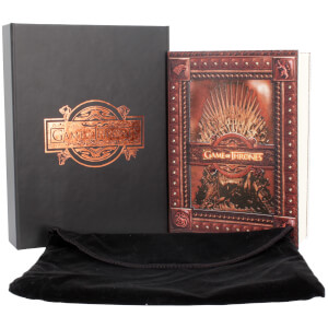 Game of Thrones - Iron Throne Dagboek in box