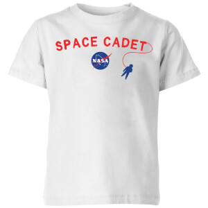NASA Space Cadets Space Walk Kids' T-Shirt - White