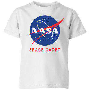 NASA Space Cadets Logo Kids' T-Shirt - White