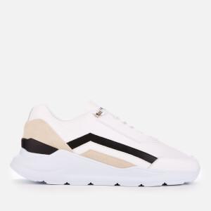 Buscemi Men's Strada Trainers - White/Yoghurt