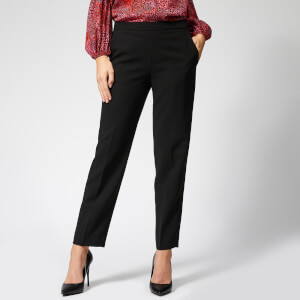 Whistles Women's Anna Elasticated Waist Trousers - Black
