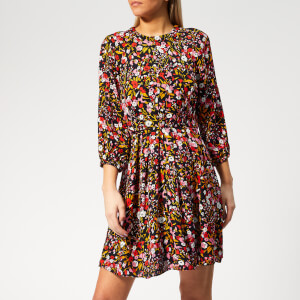 Whistles Women's Floral Meadow Print Dress - Pink/Multi