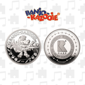 Banjo-Kazooie Collector's Limited Edition Coin: Silver Variant