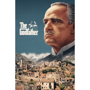 "The Godfather Giclee Fine Art Print 16""x24"" by Sam Gilbey - Zavvi Exclusive Timed Edition"