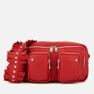 Núnoo Women's Alimakka Ruffle Bag - Red