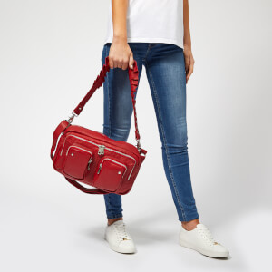 Núnoo Women's Alimakka Ruffle Bag - Red: Image 3