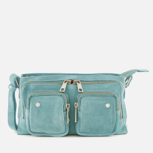 Núnoo Women's Stine Suede Bag - Aqua