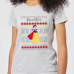 T-Shirt de Noël Femme Classiques Disney Blanche-Neige - Gris