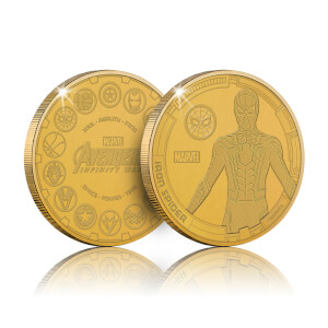 Collectable Marvel Infinity War Commemorative Coin: Iron Spider - Zavvi Exclusive (Limited to 1000)
