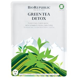 BioRepublic SkinCare Green Tea Detox Purifying Sheet Mask