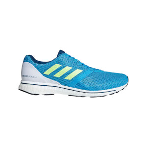 adidas Men's Adizero Adios 4 Running Shoes - Blue