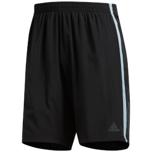 adidas Men's Own the Run 2 in 1 Shorts - Black/Grey