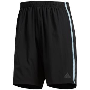 adidas Men's Own the Run 2 in 1 Shorts - Black/Grey