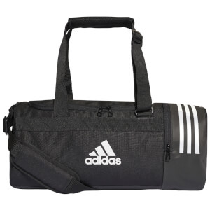 adidas Convertible 3 Stripes Duffle Bag - Black