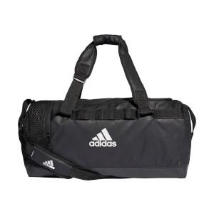 adidas Convertible Training Duffle Bag - Black