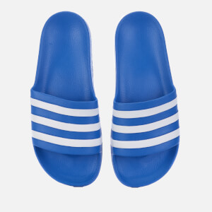 adidas Men's Adilette Aqua Slide Sandals - True Blue