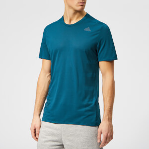 adidas Men's Supernova Short Sleeve T-Shirt - Legend Marine