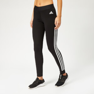 adidas Women's 3 Stripe Tights - Black