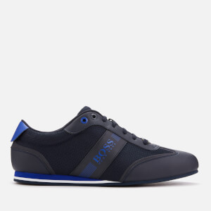 BOSS Men's Lighter Low Profile Trainers - Navy