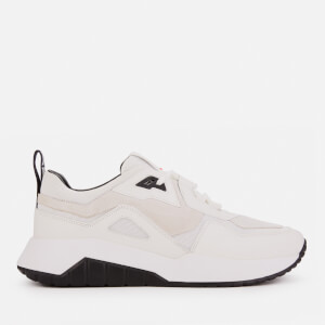 HUGO Men's Atom Running Style Trainers - White