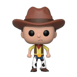 Figurine Pop Morty Western EXC Rick & Morty