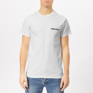 Helmut Lang Men's Little T-Shirt with Print - Chalk White