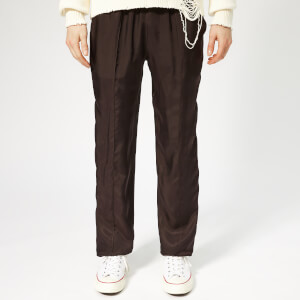 Helmut Lang Men's Cupro Lounge Trousers - Chocolate