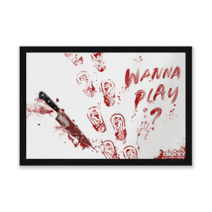 Felpudo Muñeco Diabólico Chucky Wanna Play? - Exclusivo Zavvi