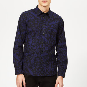 PS Paul Smith Men's Tailored Fit Shirt - Inky