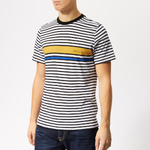 PS Paul Smith Men's Regular Fit Stripe T-Shirt - Ochre