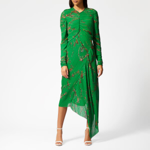 Preen By Thornton Bregazzi Women's Teresa Dress with Green Slip - Emerald Green
