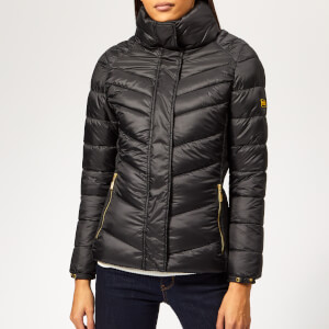 Barbour International Women's Camier Quilted Coat - Black