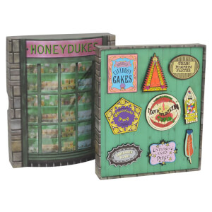 Lot de Badges Harry Potter Honeydukes