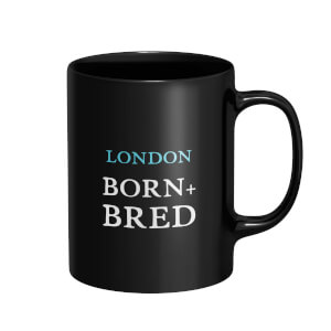 London Born + Bred Mug - Black