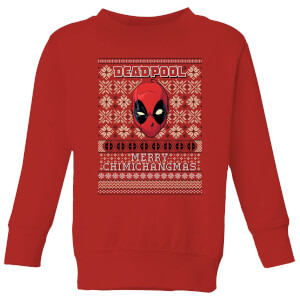Pull de Noël Homme Marvel Deadpool - Rouge