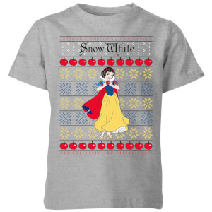 Disney Classic Snow White Kinder T-Shirt - Grijs